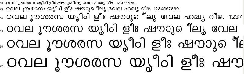 Keralax Malayalam Malayalam Font