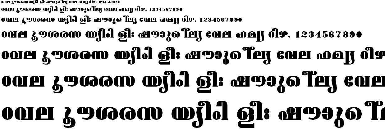 ML_TT_Ashtamudi ExBold Normal Malayalam Font