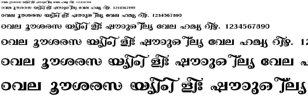 ML_TT_Ayilyam Bold Normal Malayalam Font