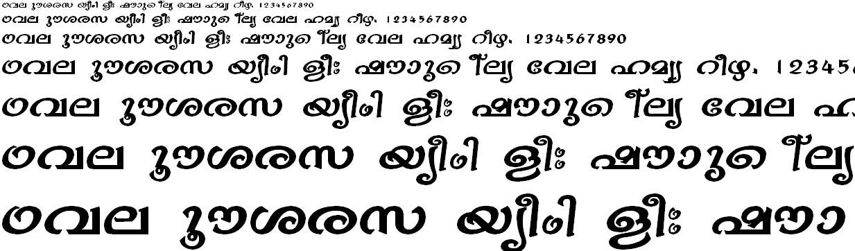 ML_TT_Bhavana Bold Malayalam Font