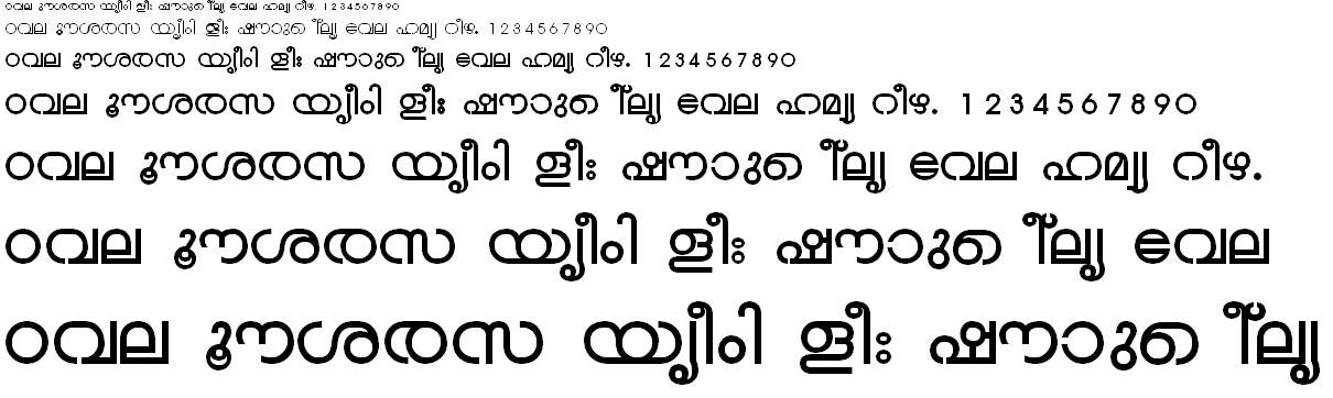 ML_TT_Chandrika Bold Malayalam Font