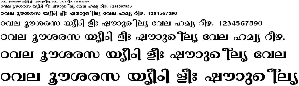 ML_TT_Gopika Bold Malayalam Font