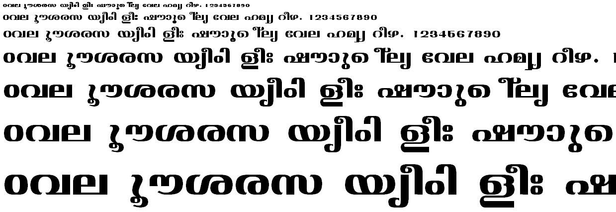 ML_TT_Jyothy Bold Malayalam Font