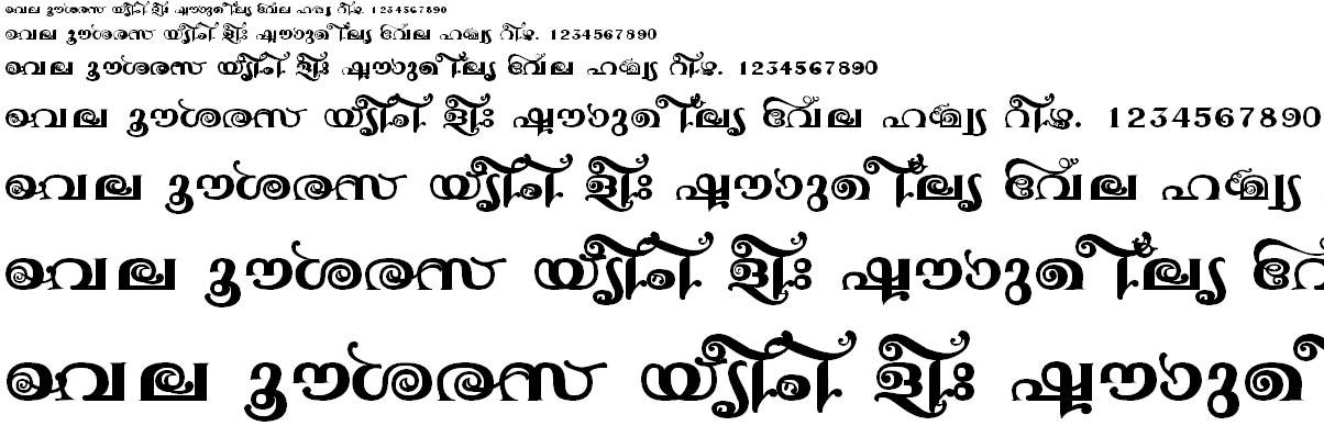 ML_TT_Jyotsna Bold Malayalam Font