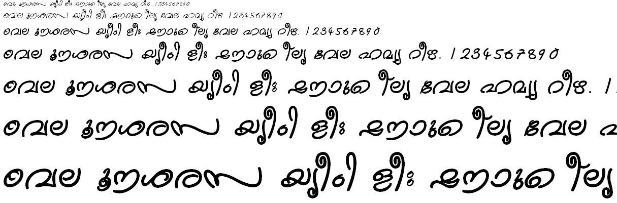 ML_TT_Kanika Bold Malayalam Font