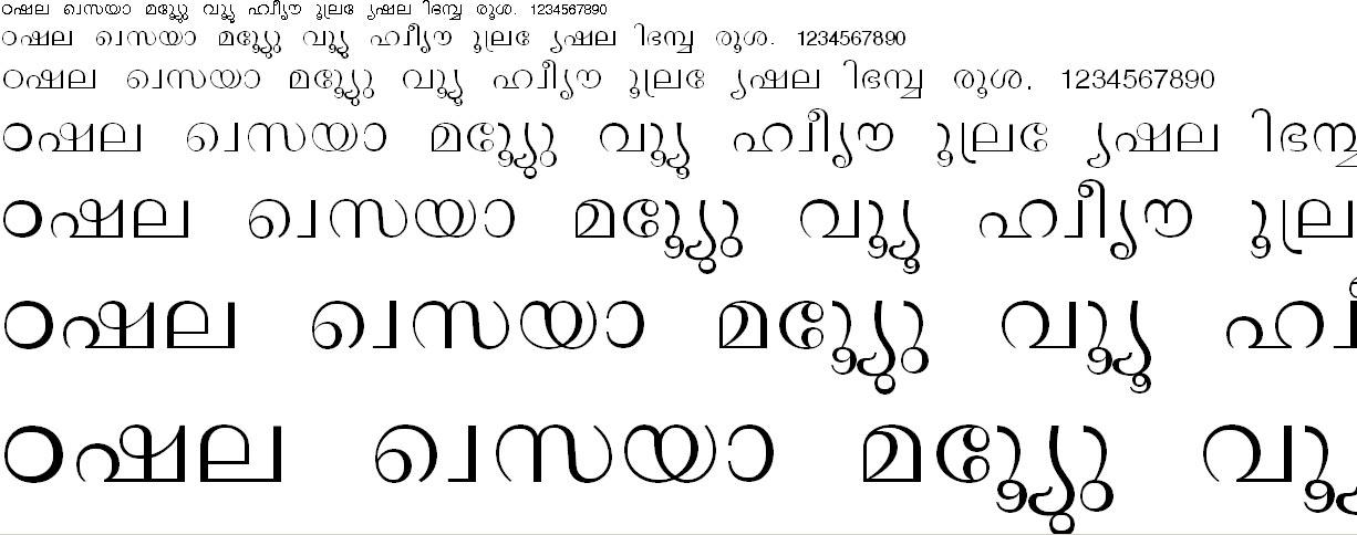 ML_TT_Lalit Normal Malayalam Font