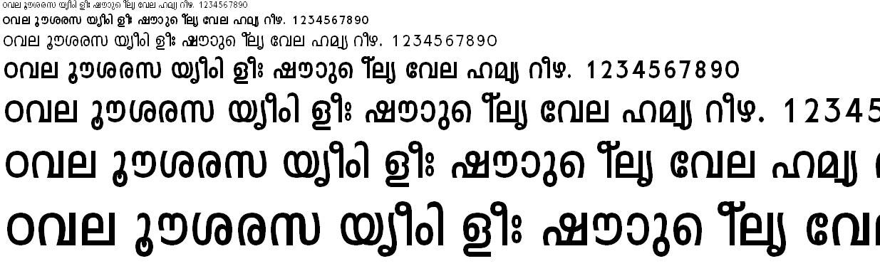 ML_TT_Leela Bold Malayalam Font