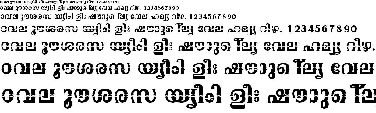 ML_TT_Onam Bold Malayalam Font