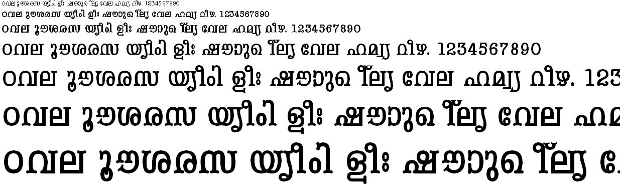 ML_TT_Periyar Bold Malayalam Font