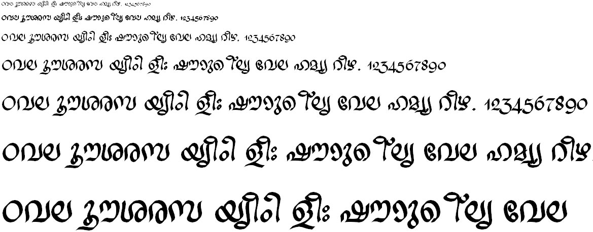 ML_TT_Ravivarma Bold Malayalam Font