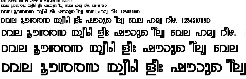 ML_TT_Rohini Bold Malayalam Font
