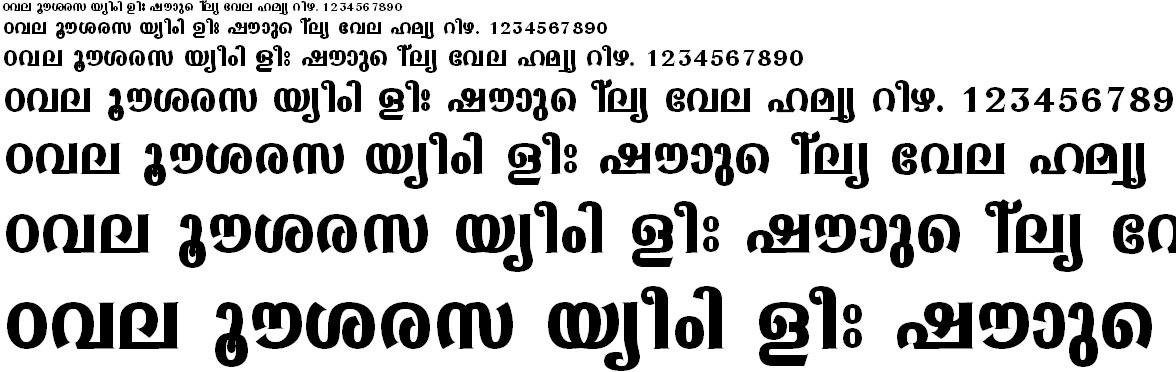ML_TT_Sabari Bold Malayalam Font
