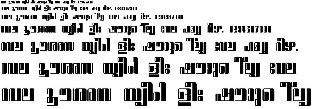 ML_TT_Sugatha Bold Malayalam Font