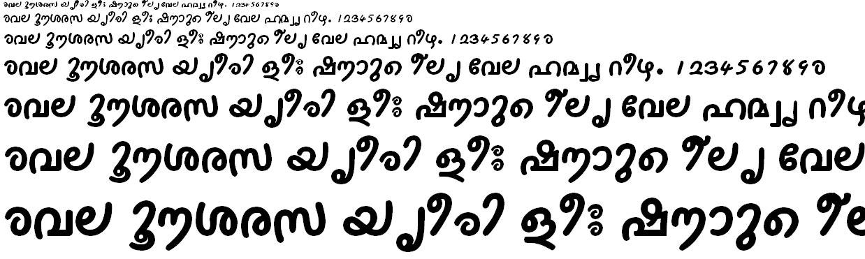 ML_TT_Thakazhi Bold Malayalam Font