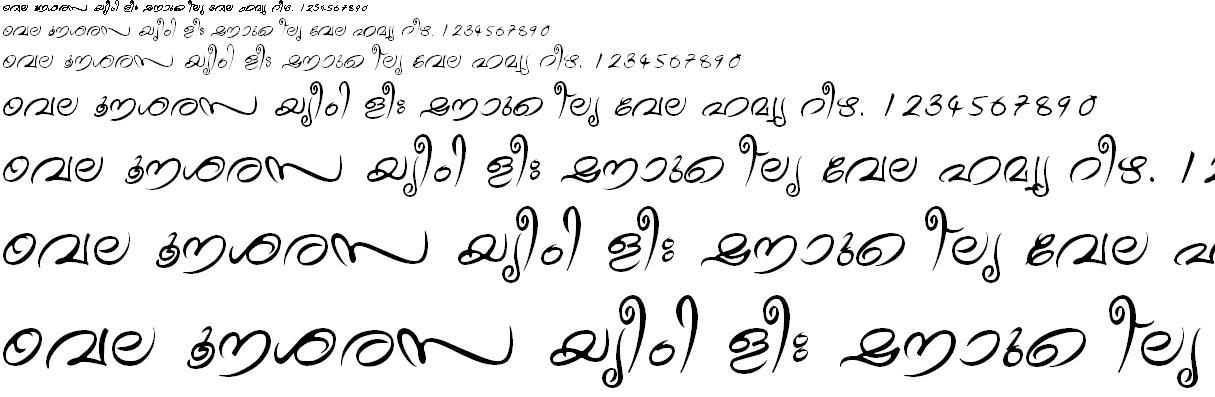 ML_TT_Theyyam Normal Malayalam Font