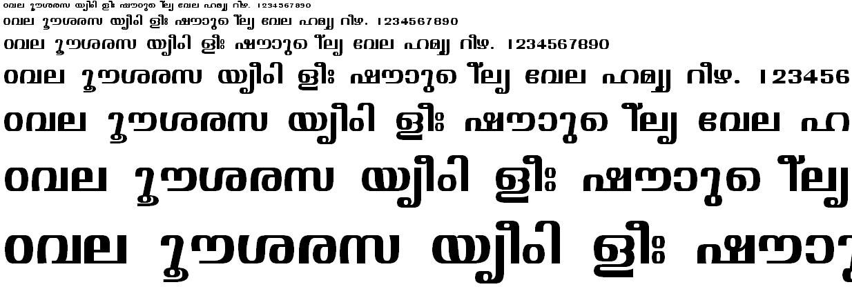 ML_TT_Visakham Bold Malayalam Font
