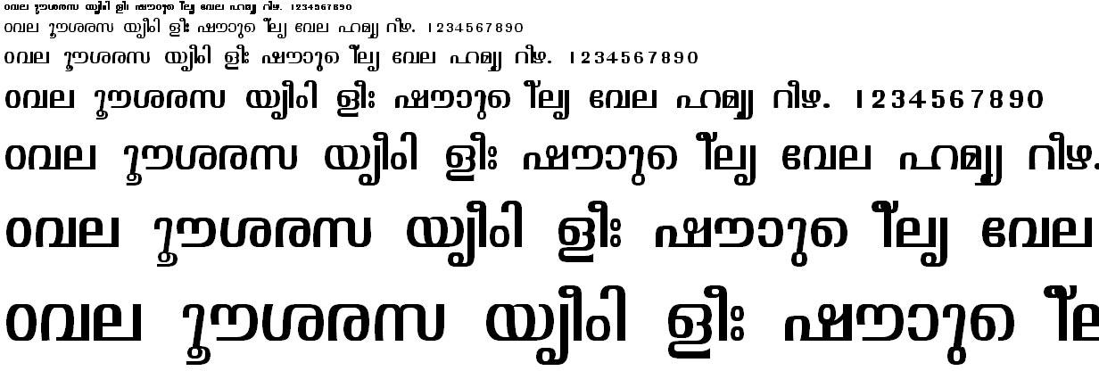 ML_TT_Visakham Normal Malayalam Font