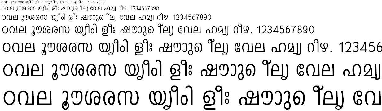 malayalam language pack