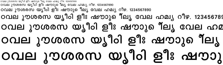 FML-Karthika Bold Malayalam Font