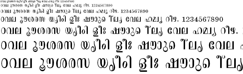 FML-TT-Aswathi Malayalam Font