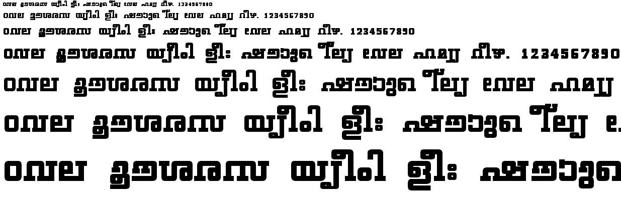 FML-TT-Geethika Bold Malayalam Font