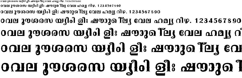 FML-TT-Kala Bold Malayalam Font