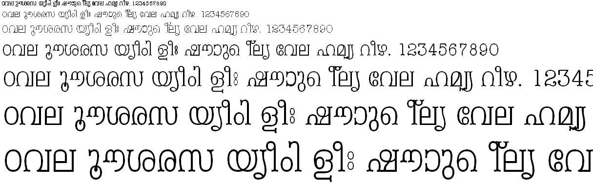 FML-TT-Periyar Malayalam Font