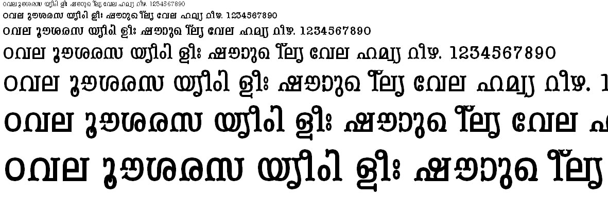 FML-TT-Periyar Bold Malayalam Font