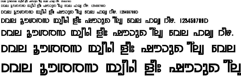 FML-TT-Rohini Bold Malayalam Font