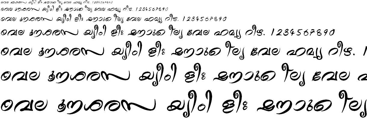 FML-TT-Theyyam Bold Malayalam Font
