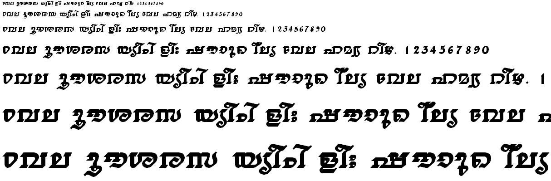 FML-TT-Thiruvathira Bold Malayalam Font